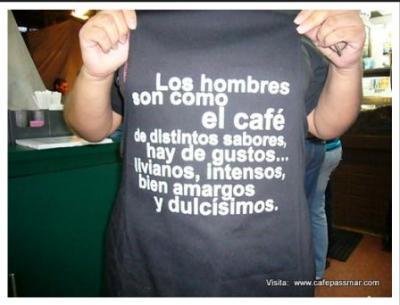 Actualización, curso de baristas y frases de café